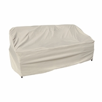 Patio Furniture Covers - For Wicker Sofa - Straight Back Or Contoured