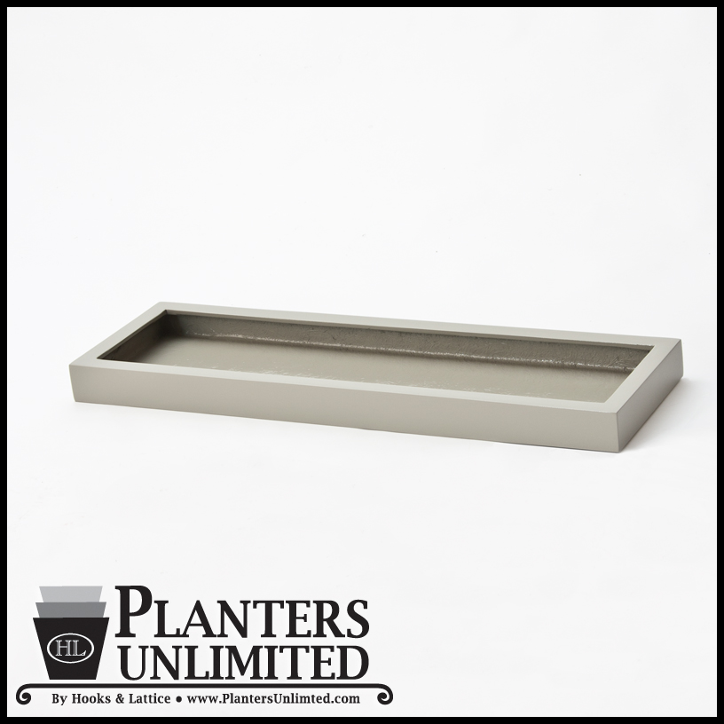 Small Planters And Plant Trays Table Top Office Planters