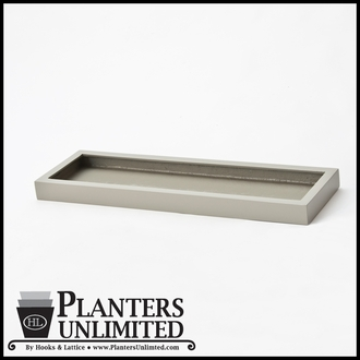 Plant Trays & Table Top Office Planters