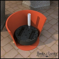 Planter & Large Pot Reservoirs - Round