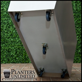 Planters On Casters Examples