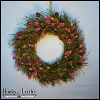 Pods & Twigs Wreath