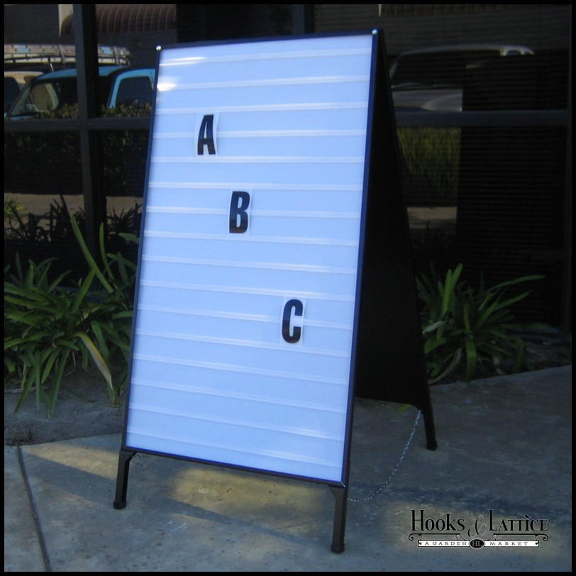 portable a frame changeable letter folding signs - A Frame Signs