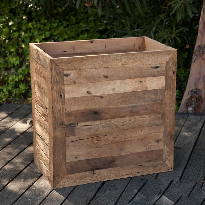 Large Planter Boxes Commercial Reclaimed Wood