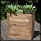 Porter Reclaimed Oak Commercial Planter 72in.L x 24in.W x 24in.H