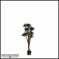 Potted Agave Tree (2 Sizes, Colors)