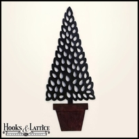 Potted Tole Tree Wall Decor