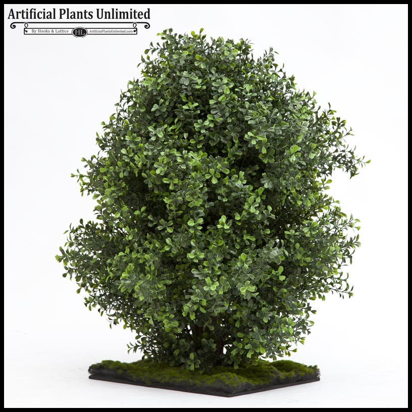premium outdoor boxwood shrub | artificial plants unlimited