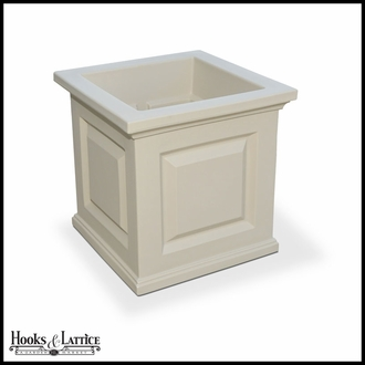 Presidential 16in. Square Patio Planter - Clay