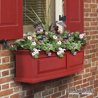 Presidential 24 in. Window Box Red