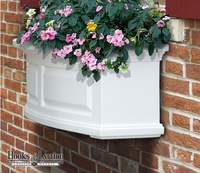 Presidential 24 in. Window Box - White