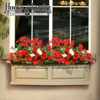 Presidential 48 in. Window Box - Clay