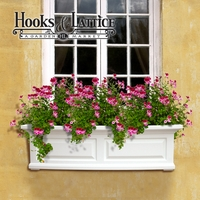 Presidential 60 in. Window Box-White
