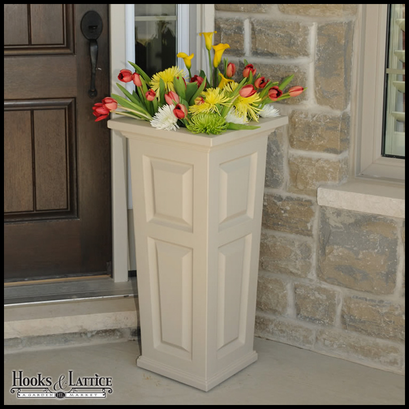 Presidential Tall Patio Planters Click To Enlarge