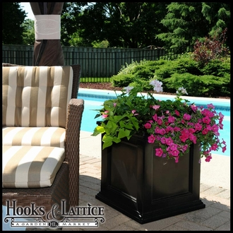 Prestige 20x20 Patio Planter - Black