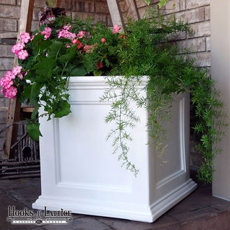 Prestige 20x20 Patio Planter - White