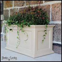 Prestige 20x36 Patio Planter - Clay
