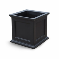 Prestige 28x28 Patio Planter - Black