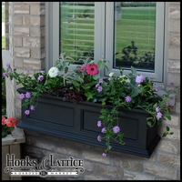 Prestige 36 in. Window Box - Black