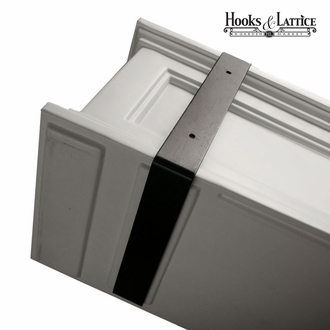 Prestige 36 in. Window Box - Clay