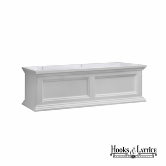 Prestige 36 in. Window Box - White