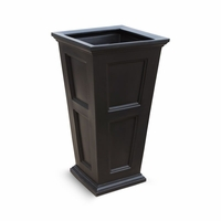 Prestige 40 inch Tall Planter - Black