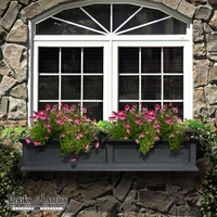 Prestige 60 in. Window Box - Black