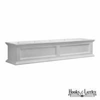Prestige 60 in. Window Box - White