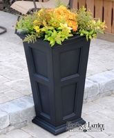 Prestige 30in. Tall Planter - Black
