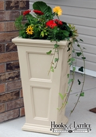 Prestige 30in. Tall Planter - Clay