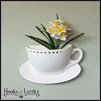 Primrose Wall Planter (coffee cup)