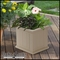 "Promenade 14"" Square Planter-Clay"
