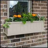 "Promenade 36"" Clay Window Box"