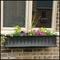 "Promenade 48"" Black Window Box"