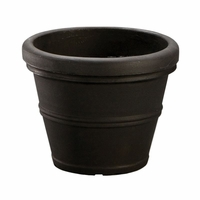 Queen Belaire 37in. Planter - Caviar Black