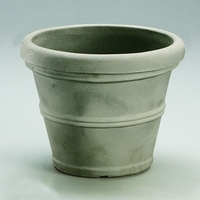 Queen Belaire 37in. Planter - Weathered Concrete
