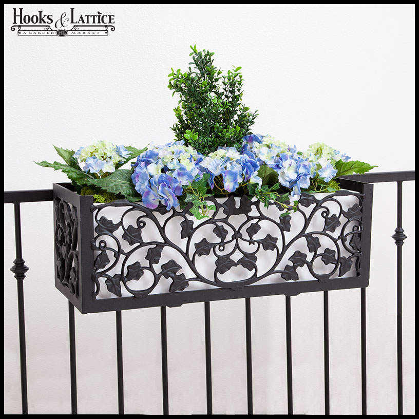railings window balcony box on planter railing email boxes contest deck flower