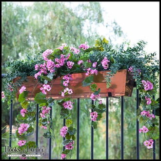 Rail Planter Box Bracket Standard Pair