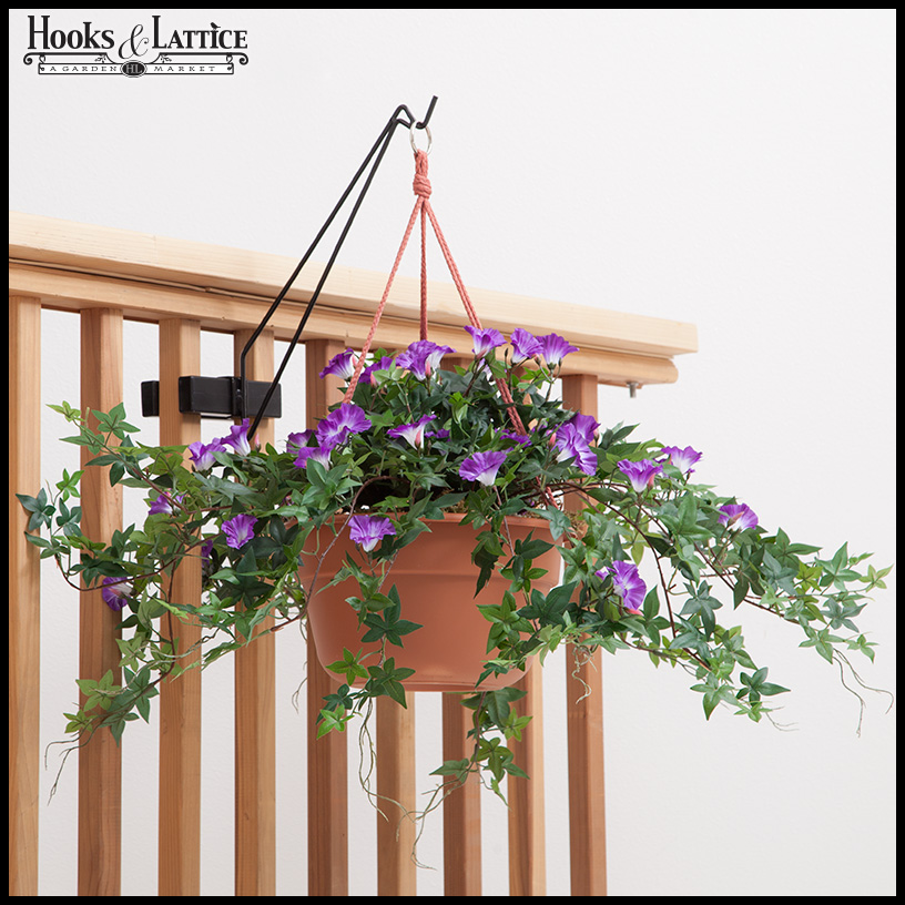 Superb Railing Hook For Hanging Baskets And Garden Decor Click To Enlarge