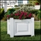Raised Panel Composite Planters