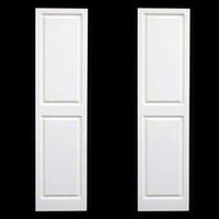 Premier PVC Composite Raised Panel Shutters - Direct Mount