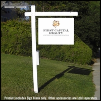 Real Estate Sign Blanks - 12 Pack