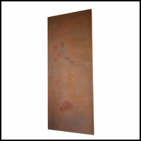 Real Metal Coated Fiberglass Designer Wall Panel 120in.L x 48in.W