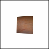Real Metal Coated Fiberglass Designer Wall Panel 48in.L x 48in.W