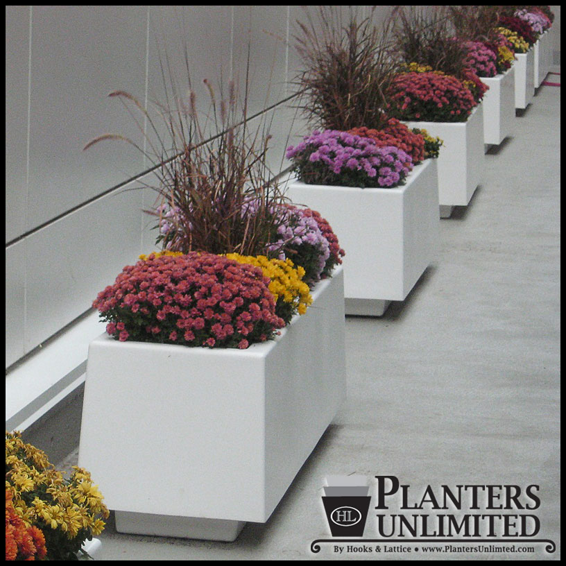 Rectangular fiberglass planters fiberglass rectangular planter boxes rectangular fiberglass planters click to enlarge workwithnaturefo