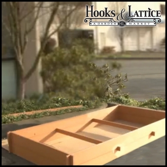 Recycled Plastic Lumber Raised Bed Kit