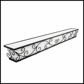 Regalia Decora Window Boxes with Composite PVC Liners