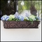 Regalia Decora Window Boxes with Textured Bronze Liners (Hammered Finish)