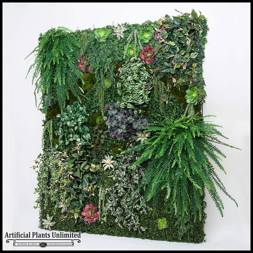 Replica Plant Green Wall, Faux Grass | Artificial Plants ...