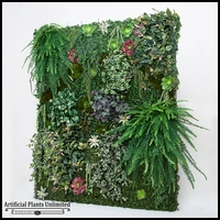 Replica Indoor Artificial Living Wall 48in.L x 48in.H